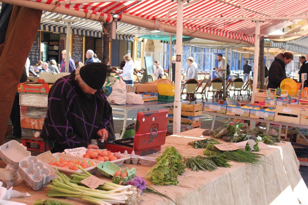 Cours Saleya a Nizza