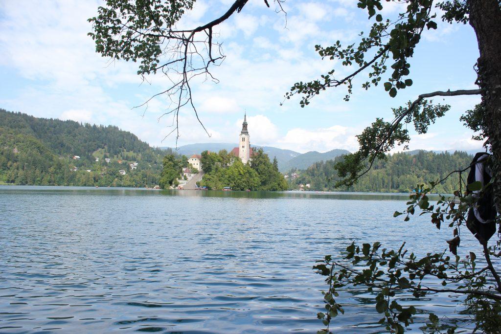 Quel ramo del Lago di Bled