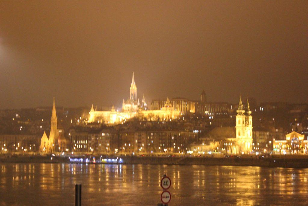 Il Danubio a 10 gradi sotto zero