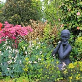 Dettaglio del Poppy Cottage Garden Cornovaglia maggio 2014