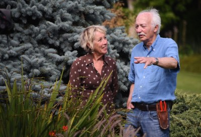Carol Klein e Adrian Bloom