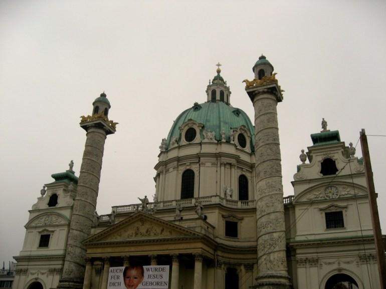 KarlsKirche di Vienna