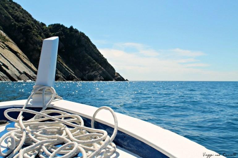 Traversata in mare - Cinque Terre