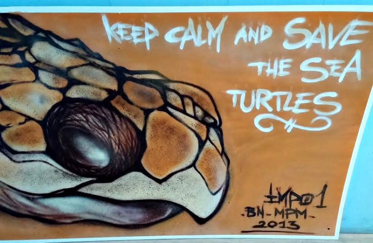 keep calm and save sea turtles