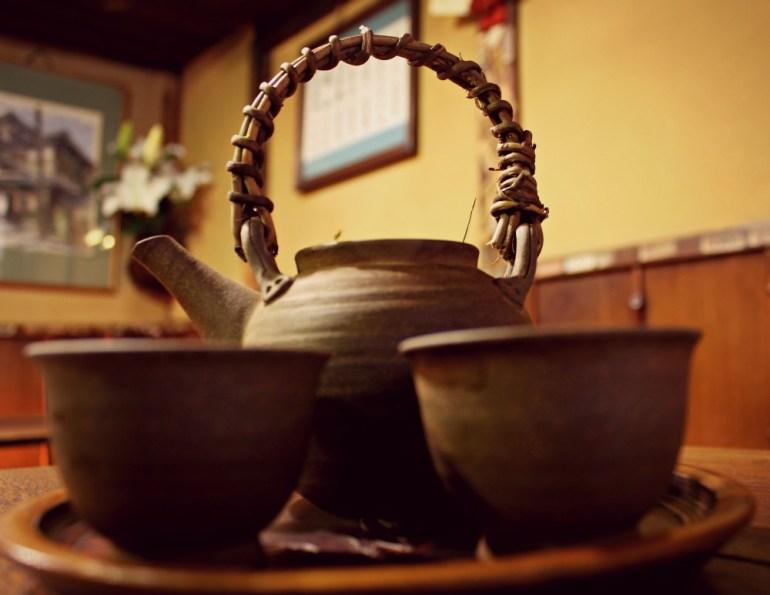 Rituale del té, in Giappone
