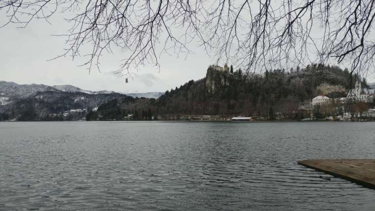 Il castello di Bled, in Slovenia