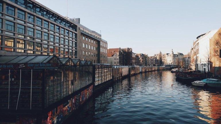 Bloemenmarkt, il mercato dei fiori galleggiante di Amsterdam - Olanda