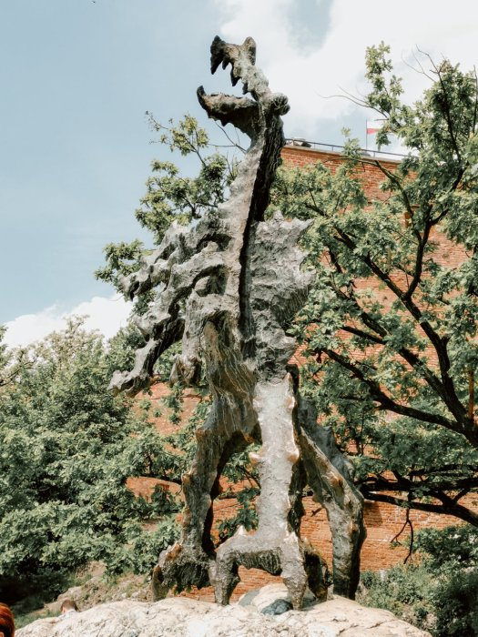 Drago del Wawel - Cracovia