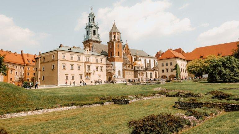 Collina del Wawel - Cracovia