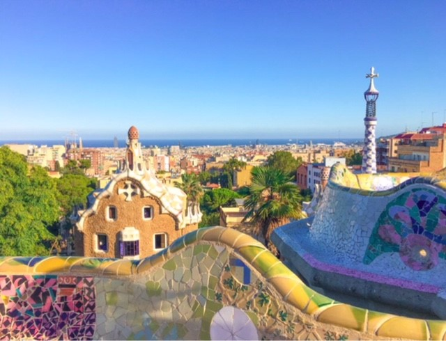 Barcellona e i suoi colori