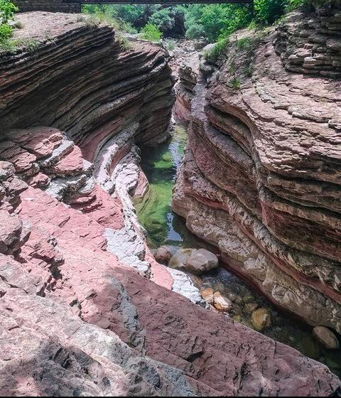 Brent de l'Art: un Canyon in Italia