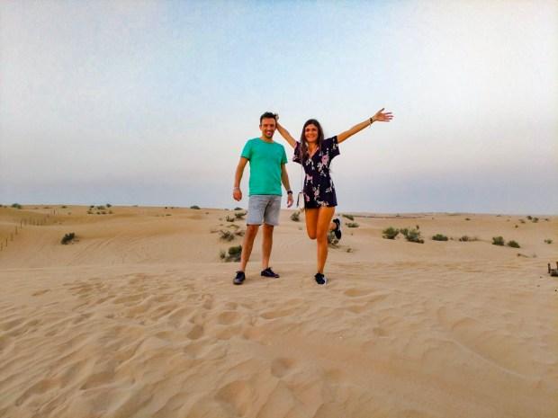 Safari nel deserto di Dubai
