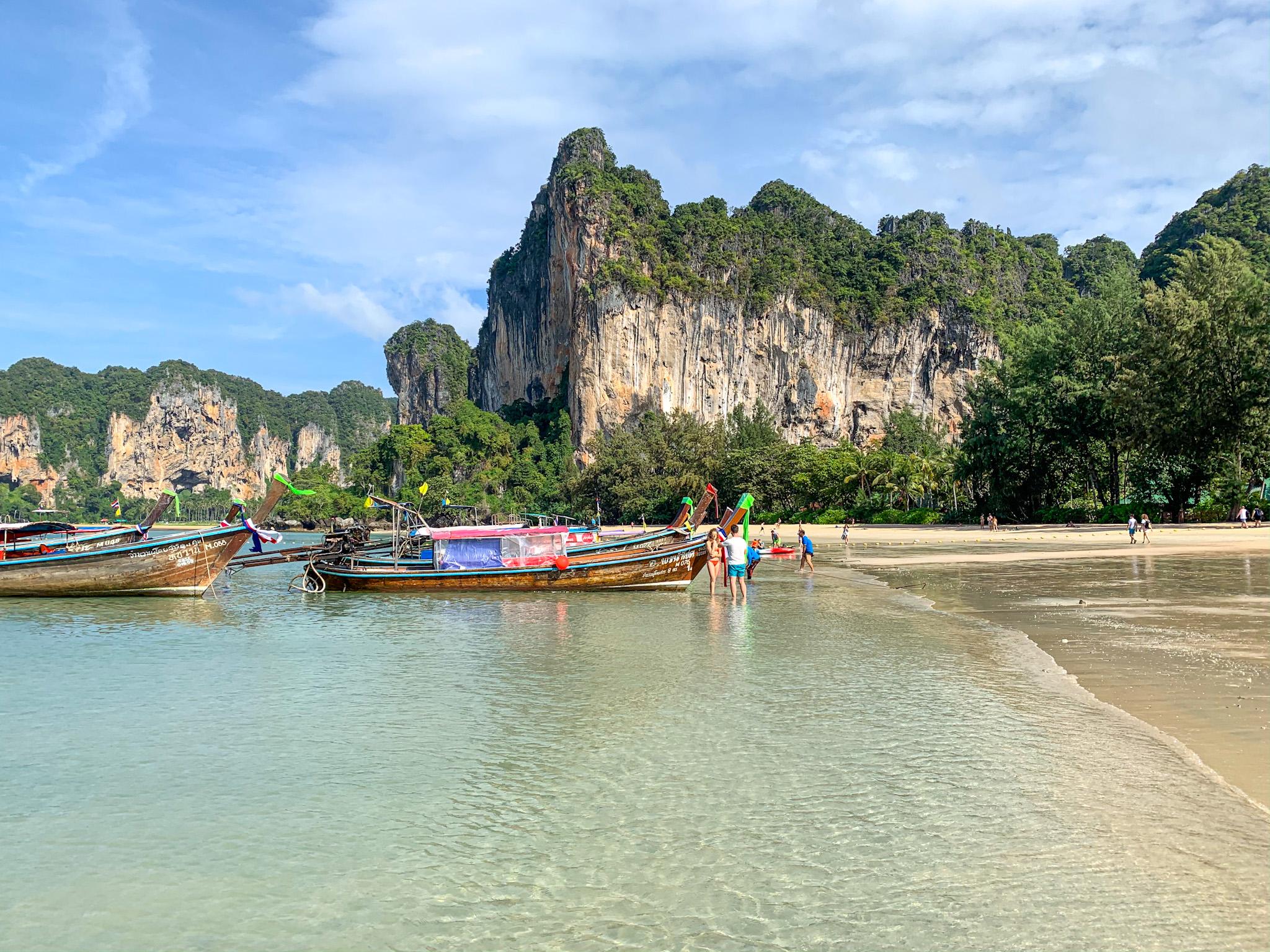 Spiaggia di Railay (West e East, Tonsai e Phra Nang)