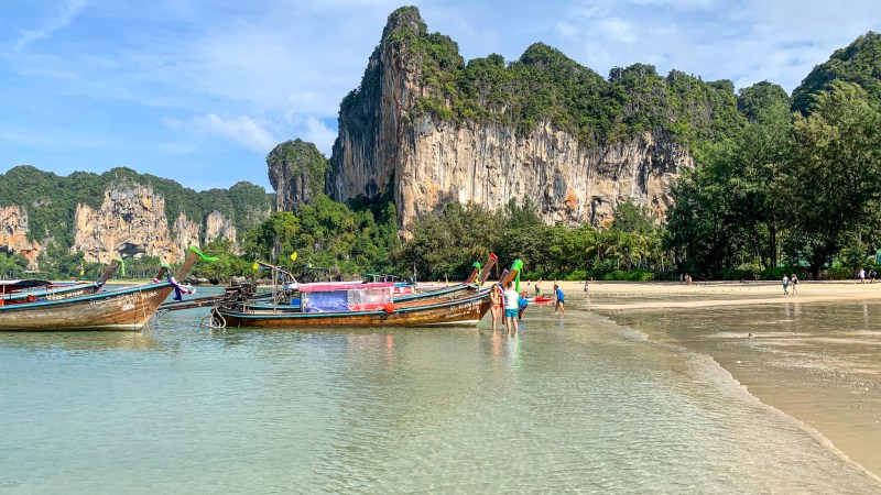 Spiaggia di Railay (West e East, Tonsai e Phra Nang)