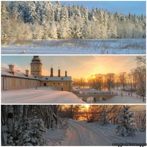Inverno Natale in Bielorussia