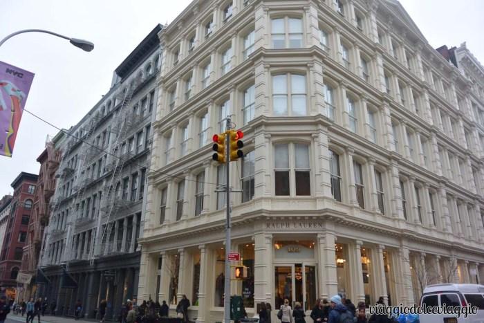 Soho e Tribeca a New York