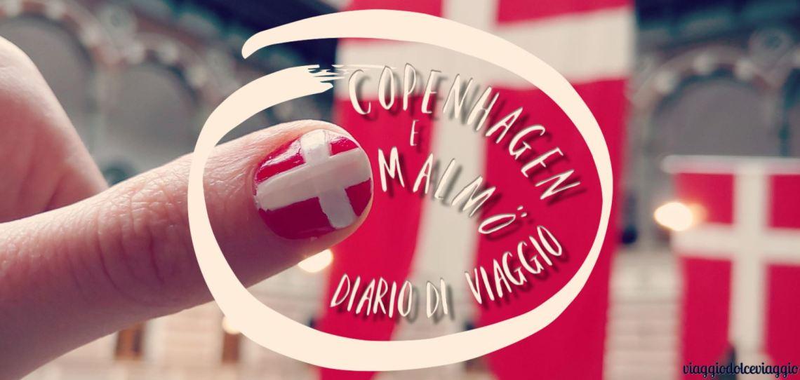 diario di viagio a Copenhagen e Malmo