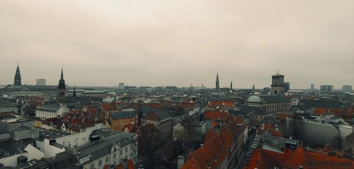 Panorama su Copenhagen