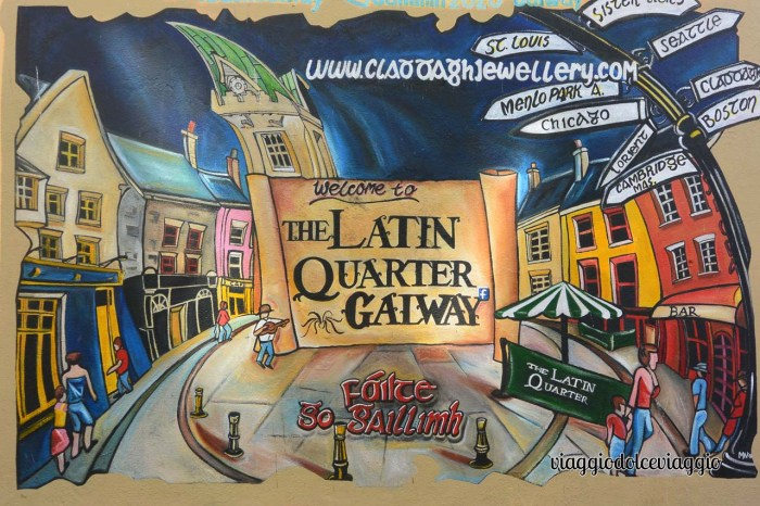 Cosa vedere a Galway, Latin quarter