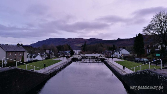 Caledonia Canal. Fort Augustus