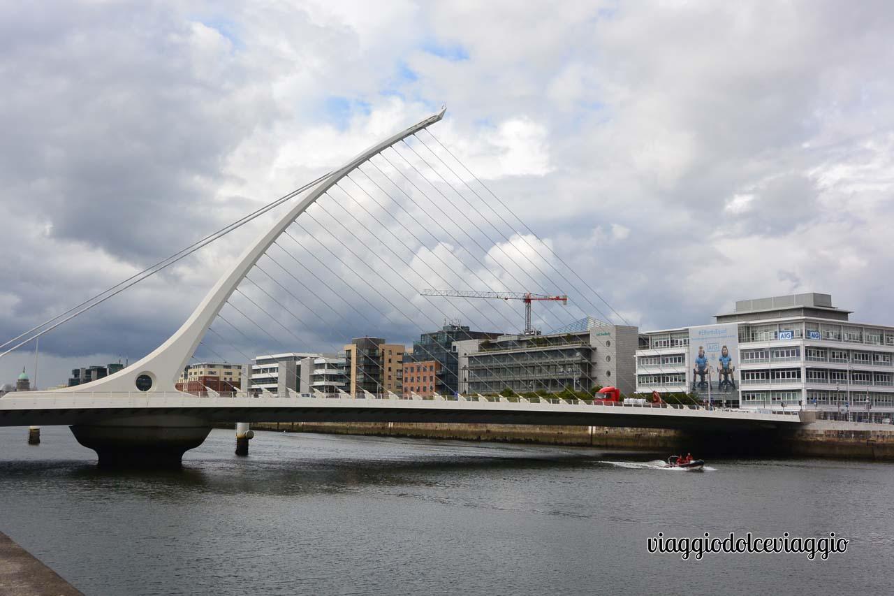 Dublino, Samuel Becket Bridge