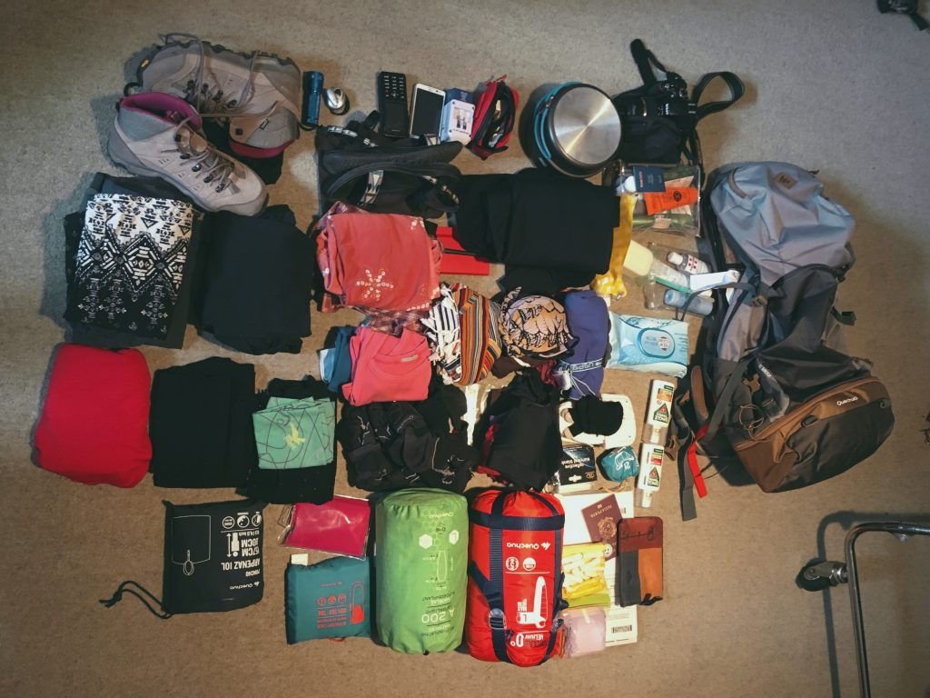 contenuto backpacking per le donne