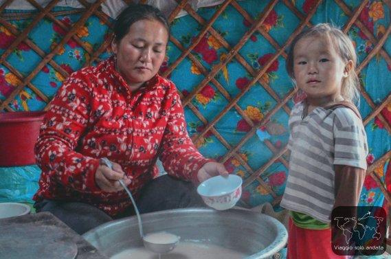 Il cibo dei nomadi mongoli
