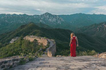 campeggiare sulla grande muraglia da soli
