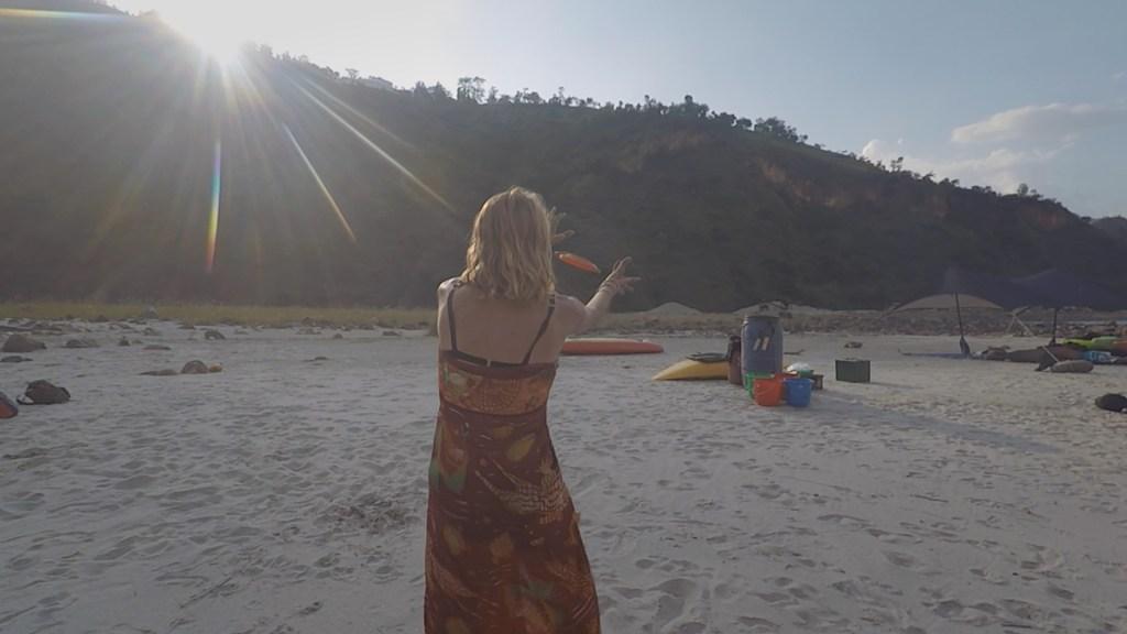 camping river nepal