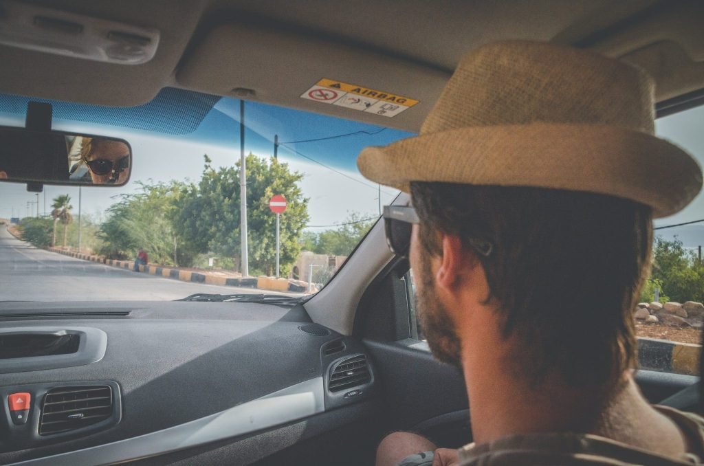 attraversare allenby bridge in macchina