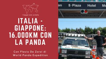 Girare il mondo in panda con Flavio De Zorzi