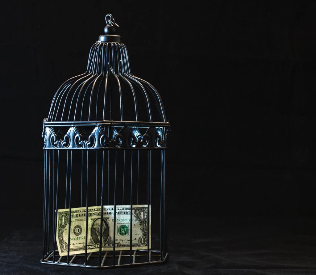 i soldi ti mettono in gabbia