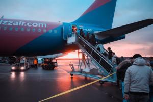 boarding aereo in ritardo
