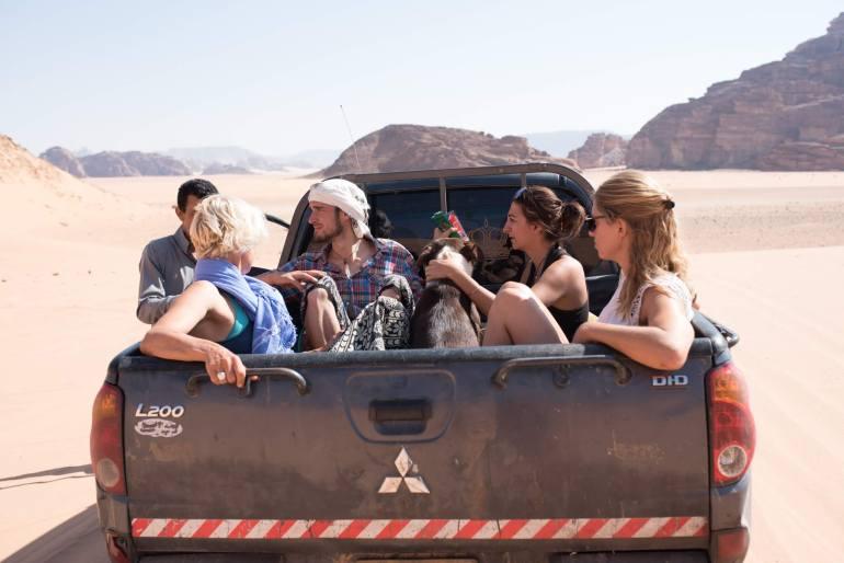 volontariato all'estero in giordania