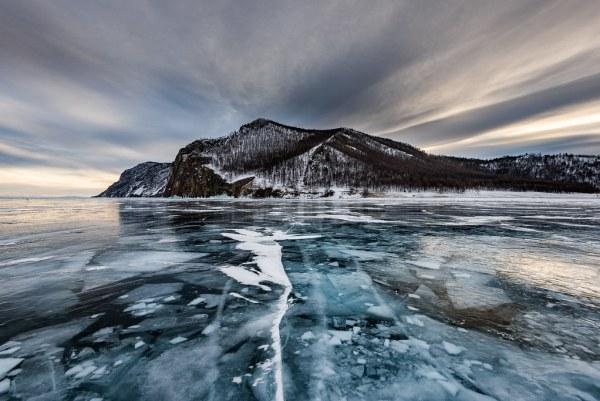 Baikal inverno transiberiana