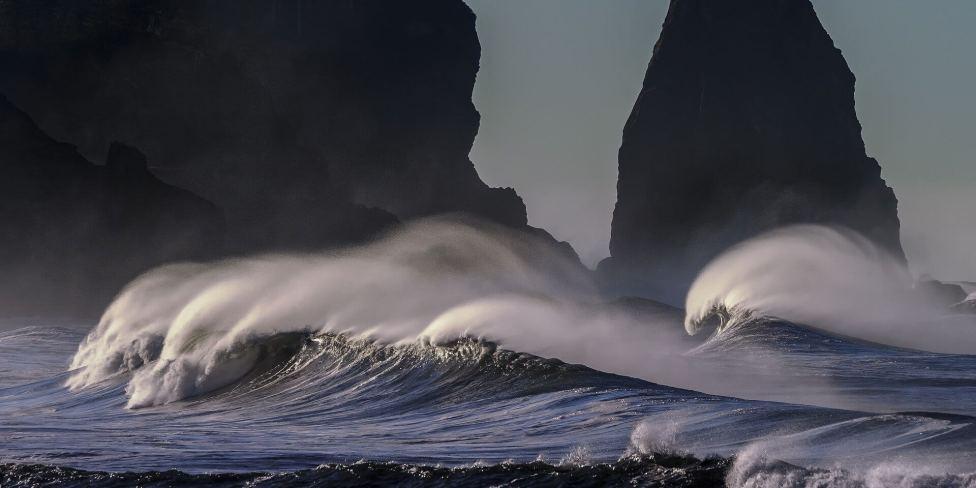 Fotografare le onde del mare con tempi veloci