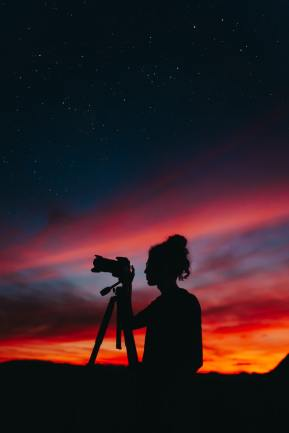 iniziare a fotografare tramonto