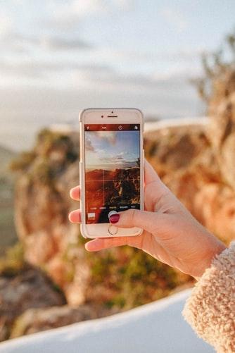 regola dei terzi smartphone