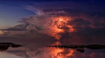 fotografia di paesaggio temporale