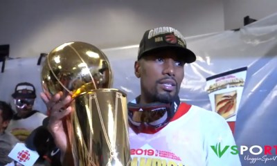 Fun & Locker Room Celebrations: Toronto Raptors 2019 NBA Champions