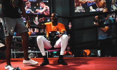 chad ochocinco's boxing debut