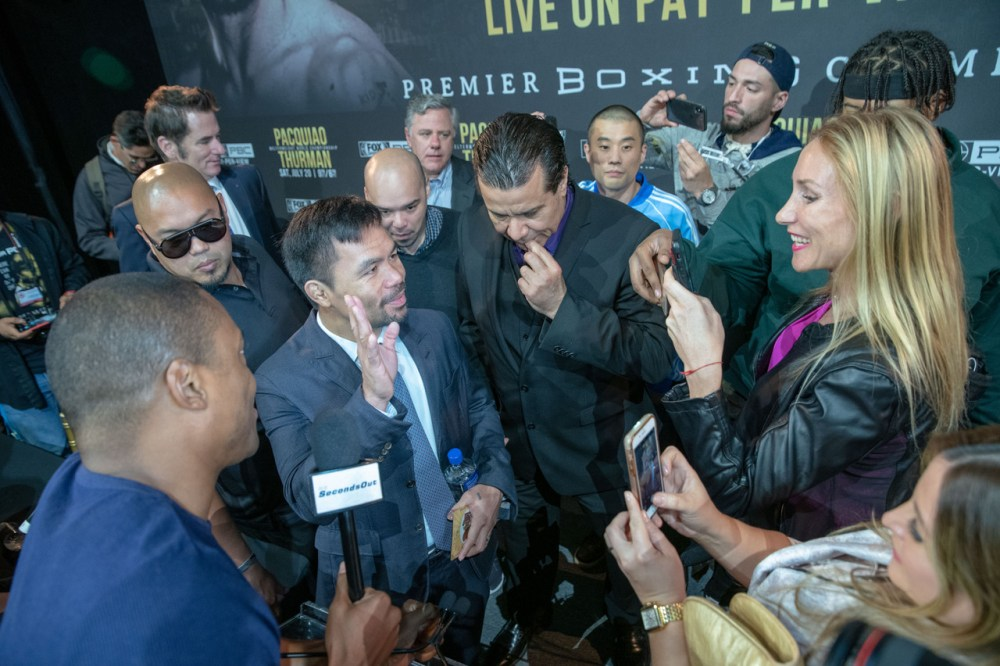 Manny Pacquiao back to the ring