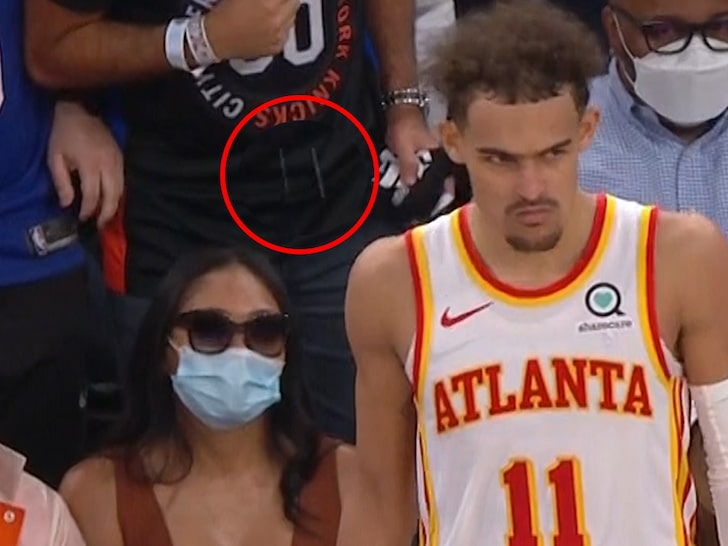 spit on trae young
