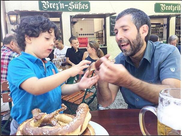 Monaco con i bambini