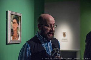 Diego Sileo, curatore della mostra