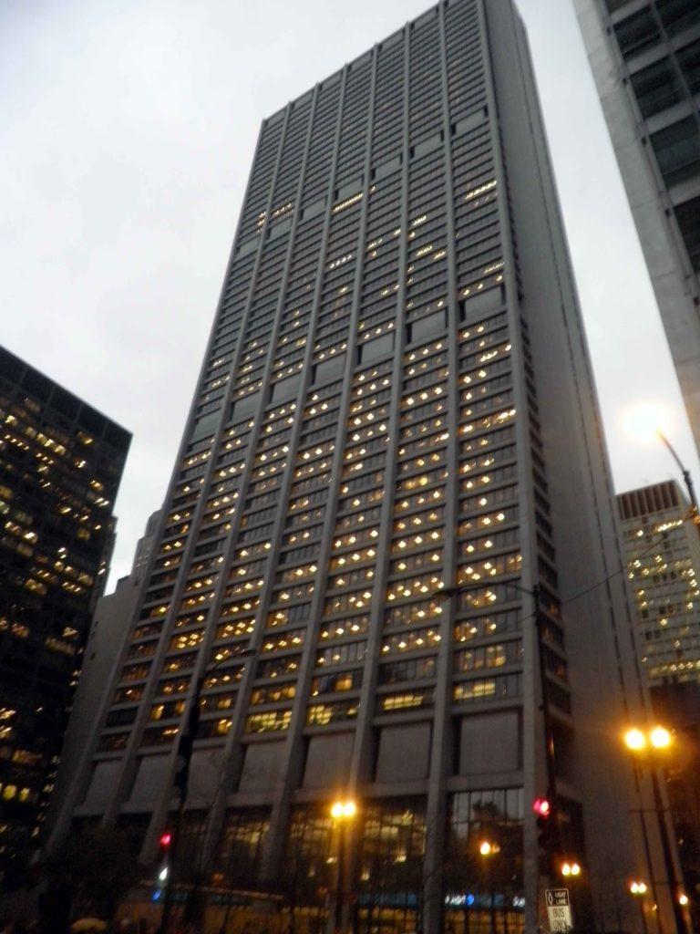 Grattacieli di Chicago e paesaggi urbani  Viaggi Verde Acido