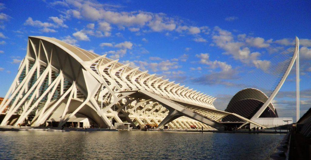 Ciutat de les Arts i les Cincies Valencia  Viaggi Verde Acido