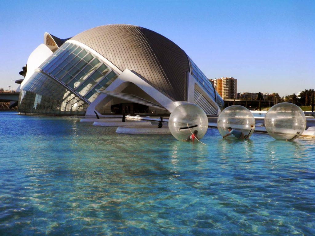 Ciutat de les Arts i les Cincies Valencia  Viaggi Verde