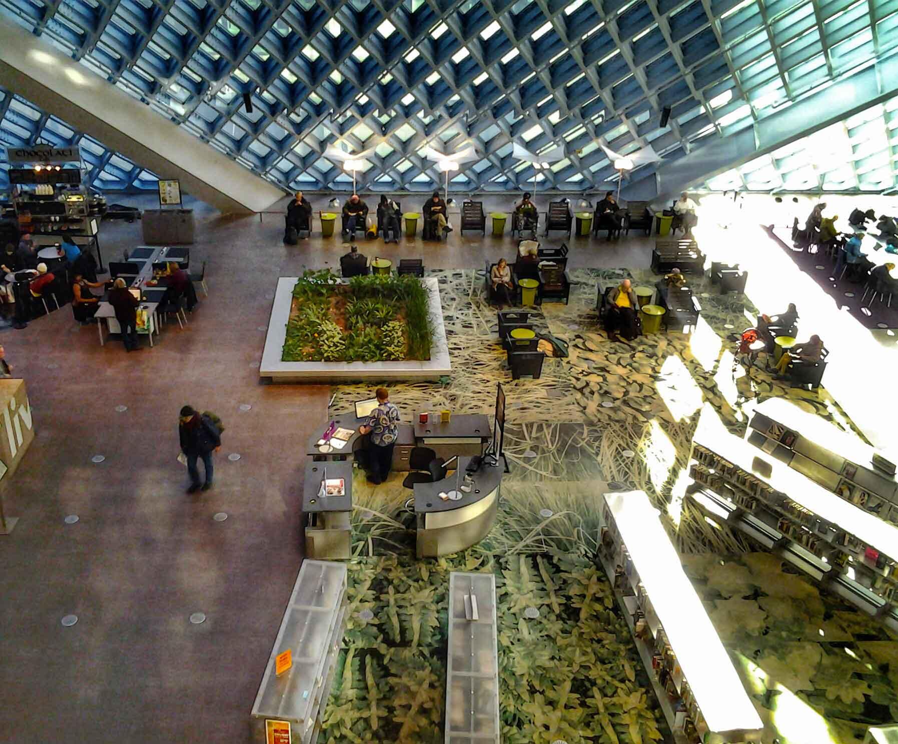 Biblioteche da sogno  la Biblioteca centrale di Seattle