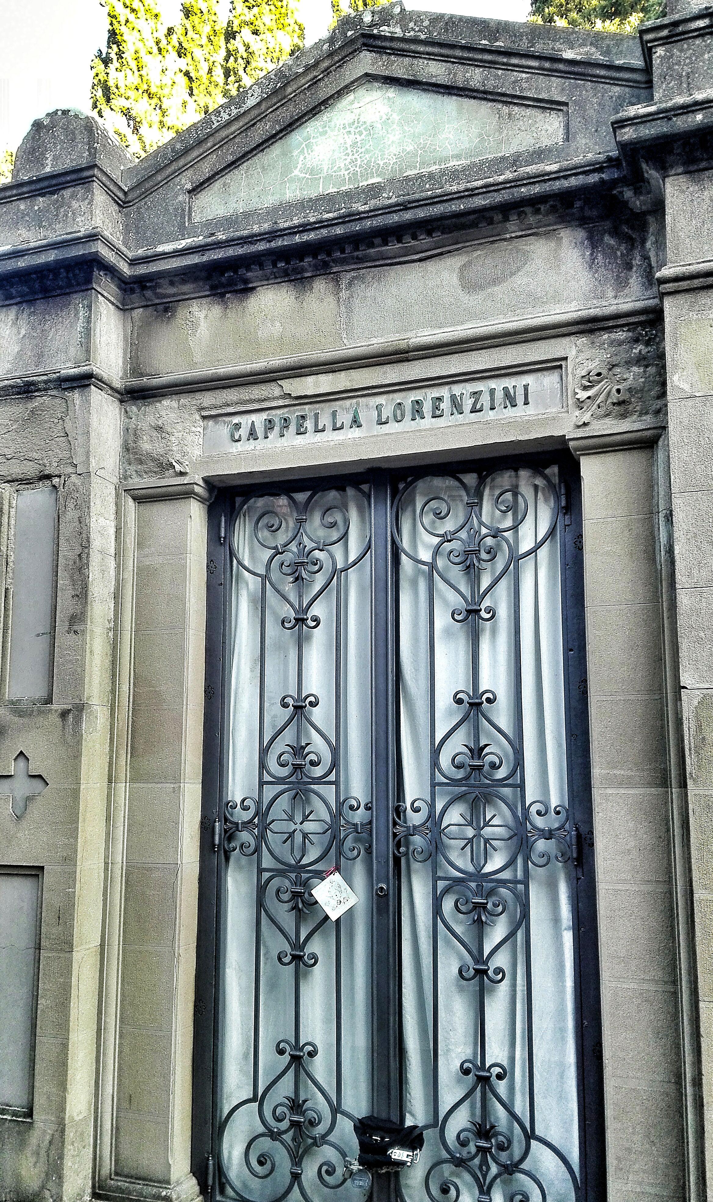 Cimitero monumentale delle Porte Sante Firenze  Viaggi Verde Acido